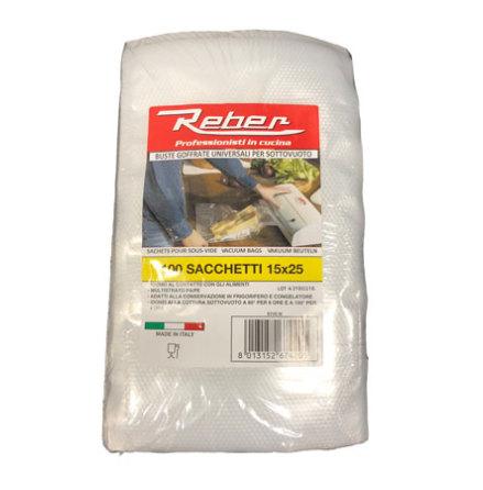 Reber Vakuumpåse 15x25cm 100st