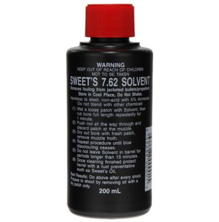 Sweet´s 7,62 Solvent