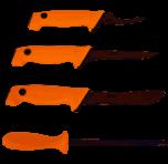 EKA Butcher set Orange