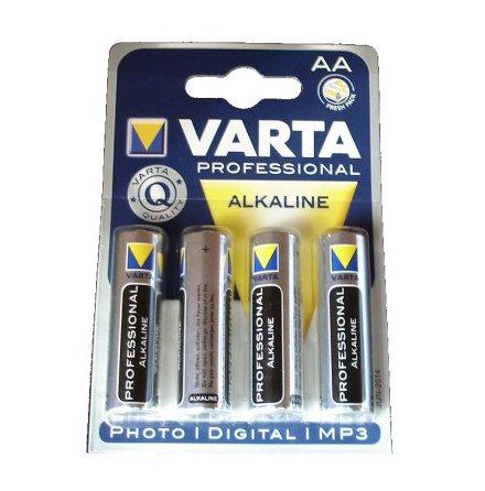 Varta AA LR06 batteri 4-pack