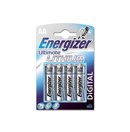 Energizer Batterier Ultimate Lithium AA (LR06) 4-pack