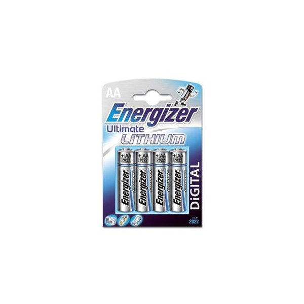 Energizer Batterier Ultimate Lithium AA (LR06) 4-pack