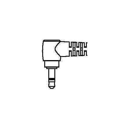 Adapter 2,5-3,5mm 4-pol