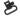 "UNCLE MIKE´S REMBYGEL QD SS TRI-LOCK 1"" SVART"